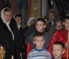 Рождественская постановка в храме станицы Петропавловской